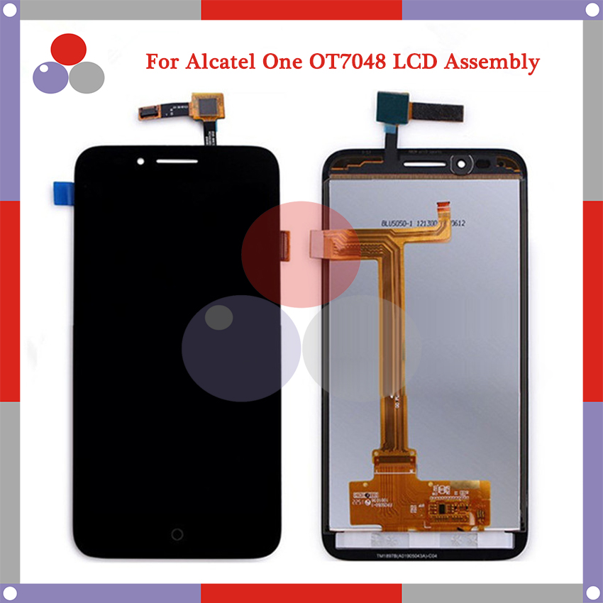 For Alcatel One Touch Go Play OT7048 LCD Screen Display + Touch Screen Digitizer Assembly Free Shipping