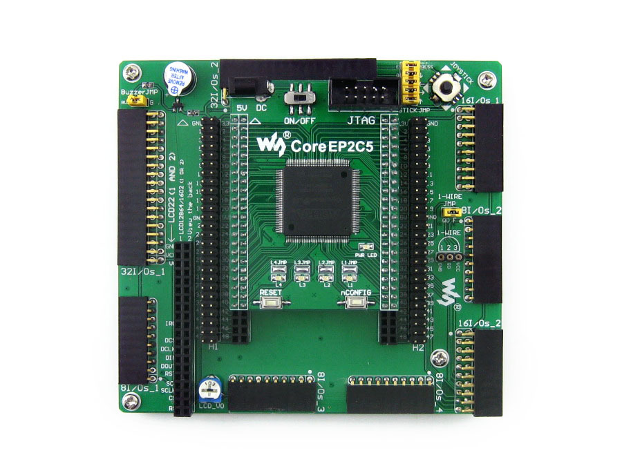 OpenEP2C5-C Standard # EP2C5 EP2C5T144C8N ALTERA Cyclone II FPGA Development Board altera cyclone board ep2c5 ep2c5t144c8n altera cyclone ii fpga development board 19 accessory kits openep2c5 c package b