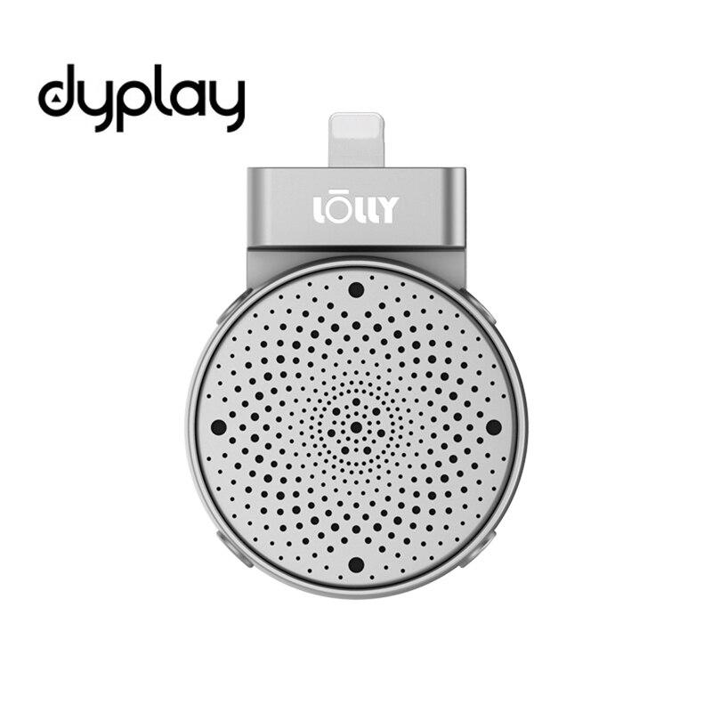 Dyplay Lolly цифровой 3D стерео кардиоидный конденсаторный микрофон для iPhone/iPad Запись для Youtube, игр, подкастинг Live