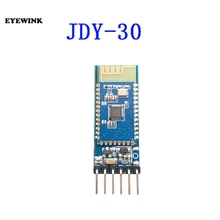 10 sztuk moduł bluetooth obsługuje SPP C protokołu i jest w pełni kompatybilny z HC 05/06 niewolnik JDY 30 ze stopy żelazka.