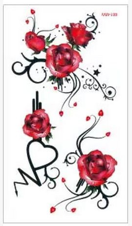 Min Order 05 Temporary Tattoo For Man Woman Waterproof Stickers