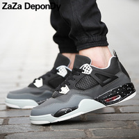 ZAZA DEPONDY Mens Basketball Shoes Couple Breathable Retro Sneakers Women Authentic Zapatillas Hombre Deportiva Jordan Shoes