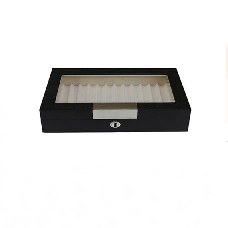Deluxe Solid Wood Gel Pen Box Fountain Pen Case
