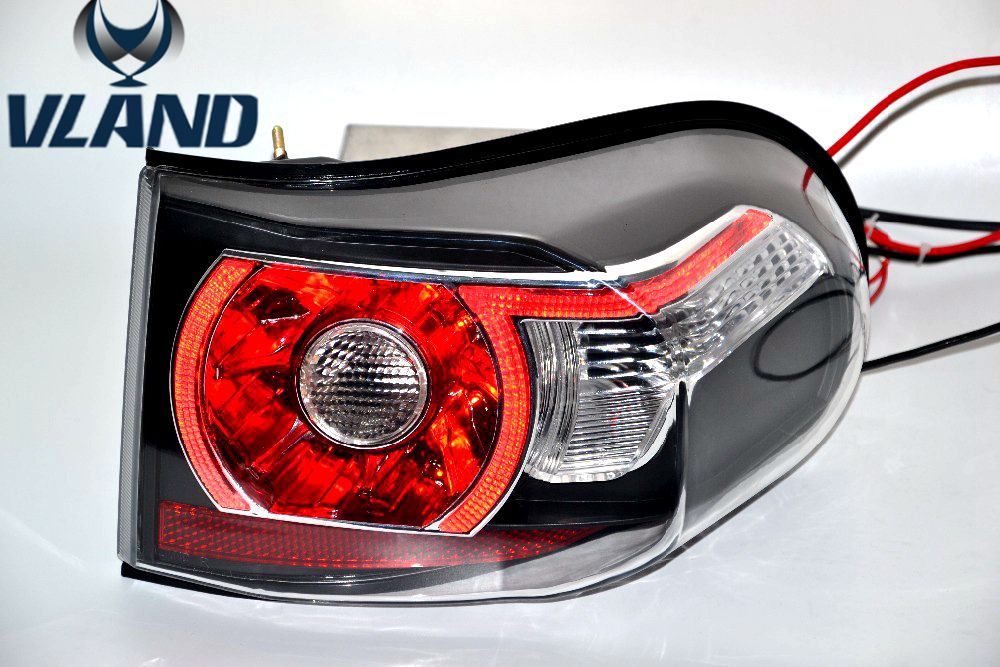Free shipping for VLAND car tail lamp For Toyota FJ Cruiser LED taillight 2008-2015 Brake+Signal lamp free shipping vland factory car parts for camry led taillight 2006 2007 2008 2011 plug and play car led taill lights