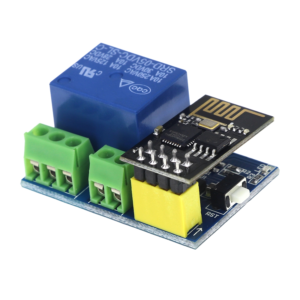 US $2 28 10% OFF DC 5V ESP8266 WiFi Relay Module Things Smart Home Remote  Control Switch Phone APP ESP 01 Wireless WIFI Module-in Relays from Home