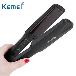 HQ KM-329 Бесплатная доставка Kemei Professional выпрямители для волос Электрический Выпрямитель Flat Iron быстро разогреть инструменты укладки