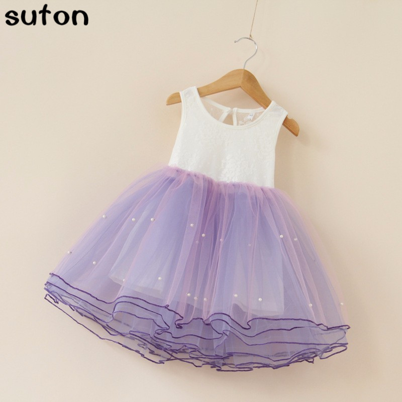 Girls Dresses Summer Tutu Princess Baby Flower Costume Lace Tulle Baby Casual Party Dress For 2-6 Years Kids Dresses For Girls summer 2017 new girl dress baby princess dresses flower girls dresses for party and wedding kids children clothing 4 6 8 10 year