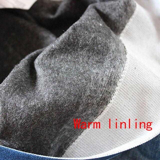Gtpdpllt S-XXL Women Fleece Lined Winter Jegging Jeans Genie Slim Fashion Jeggings Leggings 2 Real Pockets Woman Fitness Pants 6