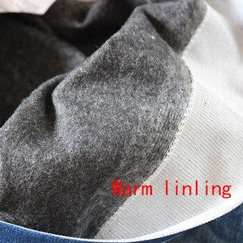 Gtpdpllt S-XXL Women Fleece Lined Winter Jegging Jeans Genie Slim Fashion Jeggings Leggings 2 Real Pockets Woman Fitness Pants 10