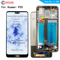 5.8 LCD For Huawei P20 EML L29 L22 L09 AL00 lcd display touch panel screen digitizer with frame assembly for Huawei P20 lcd