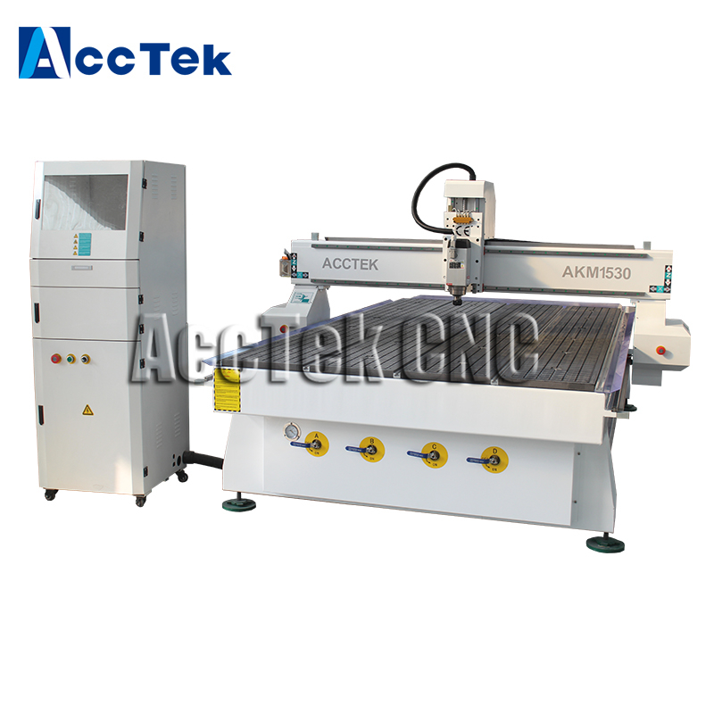 Hot Sale 1530 Wood Furniture Machinery Cnc 3 Axis Router/ Single Head 5x10 Ft Cnc Router Machine