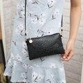 Small messenger bag female mini all-match black women's one shoulder purse coin bag mobile phone bag summer day clutch