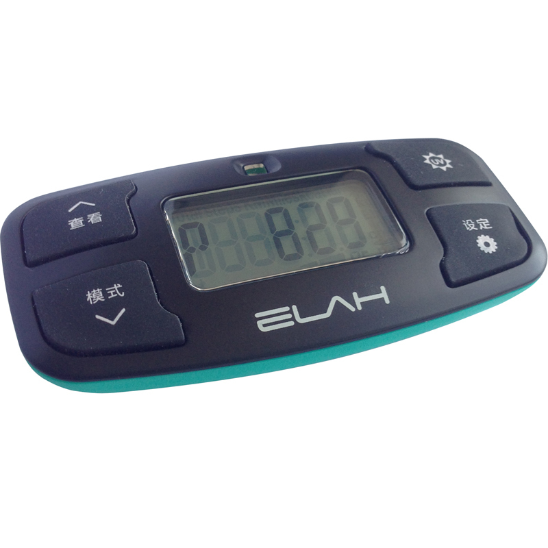 14681TW/3 ELAH SM022 Multifunction Pedometer Activity Movement Tracker UV Tester