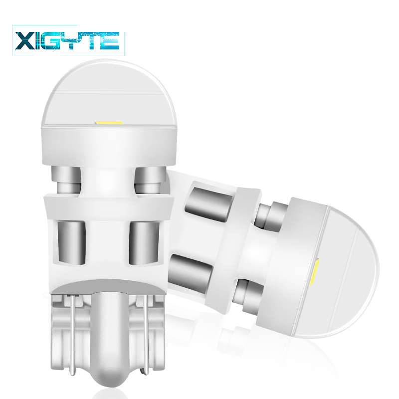 2pcs <font><b>T10</b></font> Car led 168 194 2825 <font><b>W5W</b></font> LED For <font><b>CREE</b></font> Chip Led Replacement Bulbs Car License Plate Car Light Source Car accessories image
