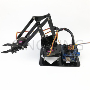Image 4 - 4DOF manipulator arduino Robotic arm remote control ps2 mg90s SNAM1900