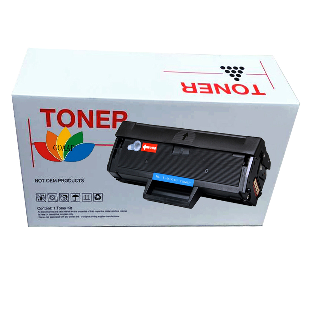 High qualidade! compatible D101S toner cartridge for MLT-D101s is Samsung <font><b>ML</b></font> 2160 2160 <font><b>2165W</b></font> 2166W 2168W scx-3405 3400f 3400fw image