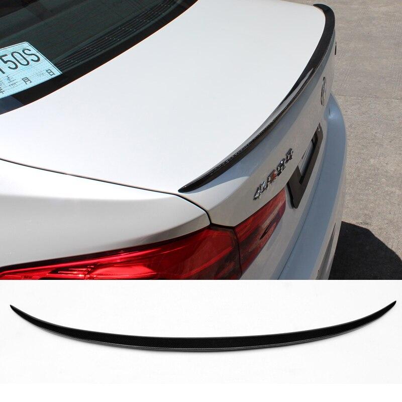 2017UP G30 M Performance M5 style fibre de carbone aileron arrière aile de coffre pour BMW G30