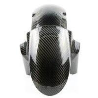 Для Kawasaki Z800 Z1000 2014 2018 переднее крыло мотоцикла колес Стикеры для колеса шины Крышка для микроволновки гвардии углеродного волокна переднее