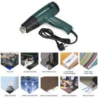1800W AC220V Electric heat gun High Quality hot air gun Temperature controlled hot gun soldering Hair dryer with 4pcs Nozzles