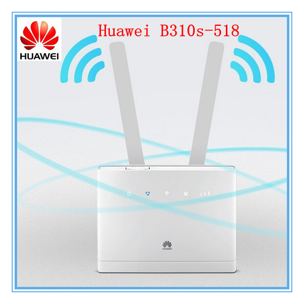 Unlocked Huawei B310 B310S-518 150Mbps 4G Lte Cpe Wifi Router Modem With Antennas Pk B315 B310S Good At Mx/us/ca/pr