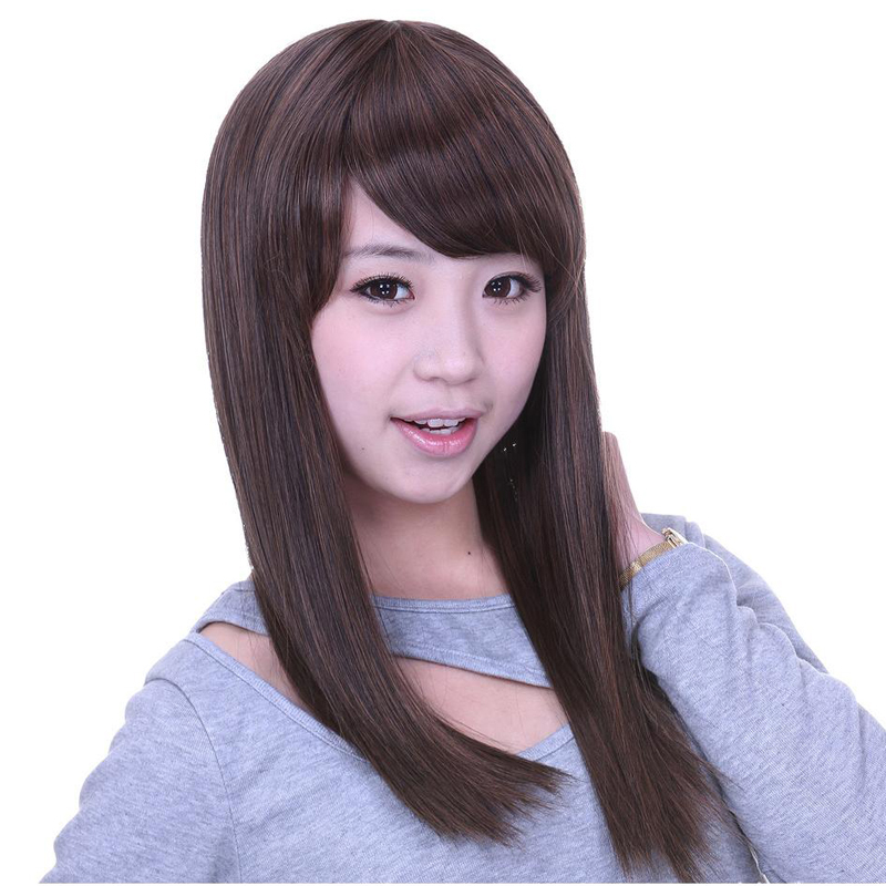 22 Long Straight Hair Wigs For Women Synthetic Wigs For Women Heat Resistant False Hair  ...