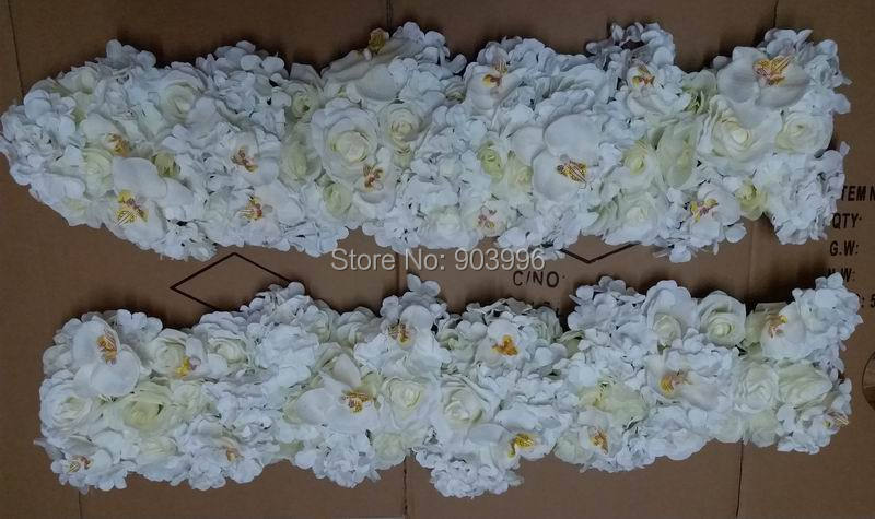 SPR Nieuw !! bruiloft weg lead bloemen kandelaar tafel middelpunt - Feestversiering en feestartikelen - Foto 2