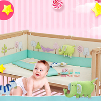 Organizer Bumper Sheet Kit Berco 3D Cartoon Sound Baby Nursery 5pcs Set Baby Bedding Curtain Berco Crib Bumper Baby Bed Set