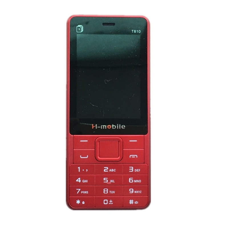H Mobile T810 Phone With Three SIM Card Bluetooth Flashlight MP3 MP4 FM Camera 2 8