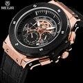 Megir top marca de lujo de los hombres reloj de pulsera para hombre cronógrafo relojes de los hombres clásicos masculinos regalos relojes de cuarzo deporte militar del ejército reloj