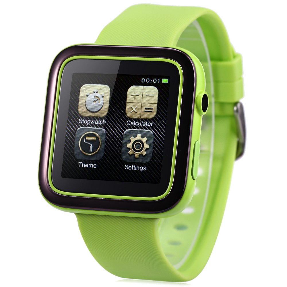 ФОТО ORDRO CK1 1.54 Inch Anti-lost Water-resistant Smartwatch Phone MTK2502 Remote Camera Pedometer Sedentary Reminder Smart Watch