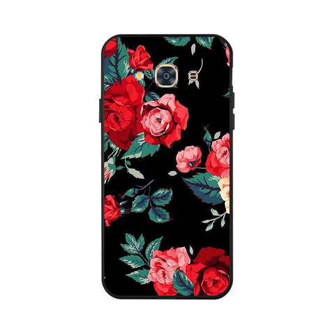 Ojeleye Fashion Black Silicon Case For Samsung Galaxy J3 Pro Cases Anti-knock Phone Cover For Samsung J3 Pro J3110 Covers Multan