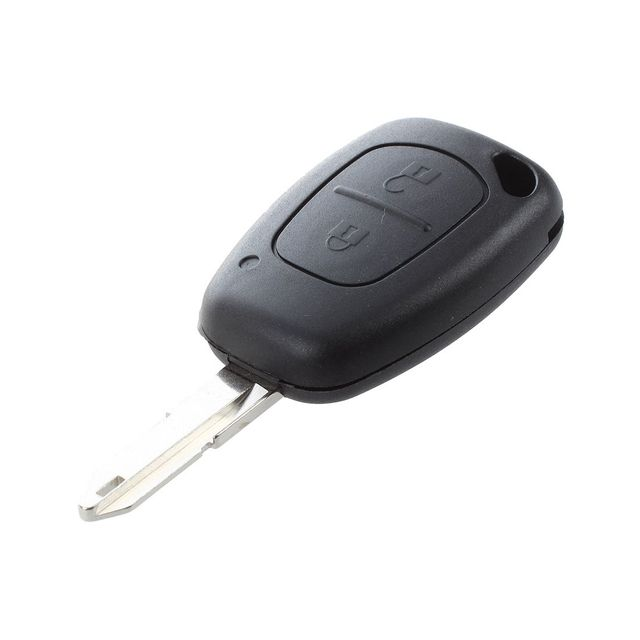 AUTO Coque 2 boutons pour cle telecommande Renault TRAFIC MASTER ...