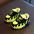 2017 de Inverno Crianças Grossas Sneakers Marca Boys & Girls Algodão Super Quente Sapatos Gancho de Borracha Inferior Sapatos de Moda Da Criança, EJ164