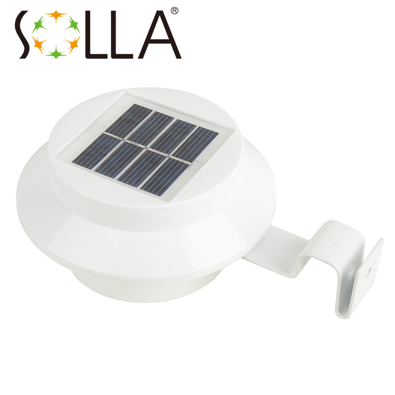 Cheap Security Lights Outdoor: Portable Solar Panels LED Light Solar Powered Fence Gutter Solar Lights, Outdoor  Security Solar Lamps,Lighting