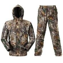 Дышащая бионическая камуфляжная одежда для охоты костюм камуфляжный