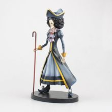 NEW hot 20cm One Piece BROOK Burukku collectors action figure toys Christmas gift toy
