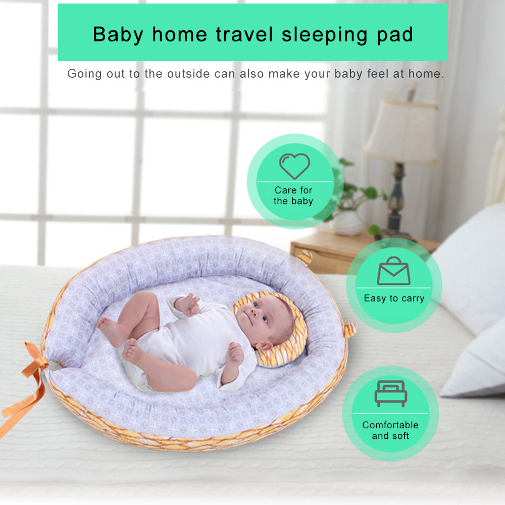 High Quality Plush Crib Sleeping Pad Soft And Comfortable Portable Home Baby Sleeping Pad Free Shipping