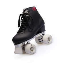 2017 New Double Roller Skates Reniaever Skate Two Line Roller Skate Patins Lady Patins Adulto black White Adult Skate Shoes