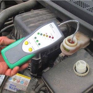 Image 3 - DUOYI רכב בוחן בדיקת שמן אווז צוואר גלאי קול כפול אור מעורר DY23 DY23B עבור DOT3 DOT4 DOT5