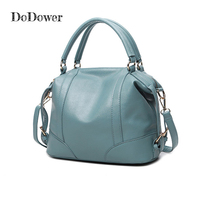 Do Dower Fashion PU Leather Female Handbags Casual Tote Travel Shoulder Bags Woman Messenger Bag Zipper