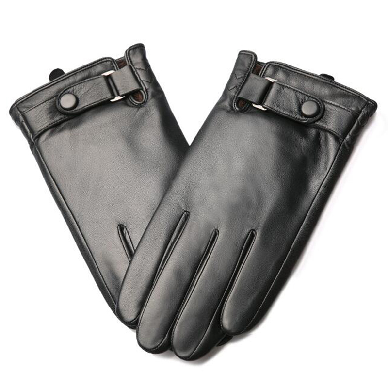 Svadilfari New 2018 Men Touch Screen Gloves Genuine Gloves Winter mittens Soft Smartphone Wrist Guantes Mobile Phone Tablet Pad