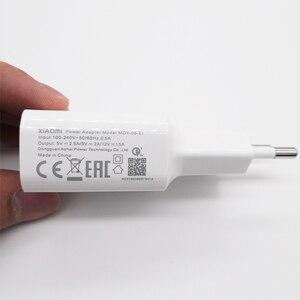 Image 3 - Original XIAOMI Charger EU Plug QC3.0 Fast Adapter 5V 2.5A/9V 2A,Type C Cable For Mi 6 8 A1 6X 5S 5X 5C plus MIX Mix2 2S Note 3