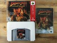 64Bit Spiele ** Indiana Jones und die Infernal Maschine PAL Version (box + handbuch + patrone!!)-in Spielangebote aus Verbraucherelektronik bei