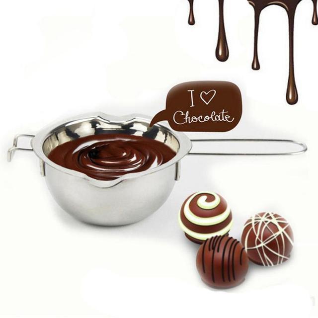 Stainless Coklat Mentega Melting Pot Pan Dapur Rumah Milk Bottle Double Boiler DROP Shipping Q13 30 +