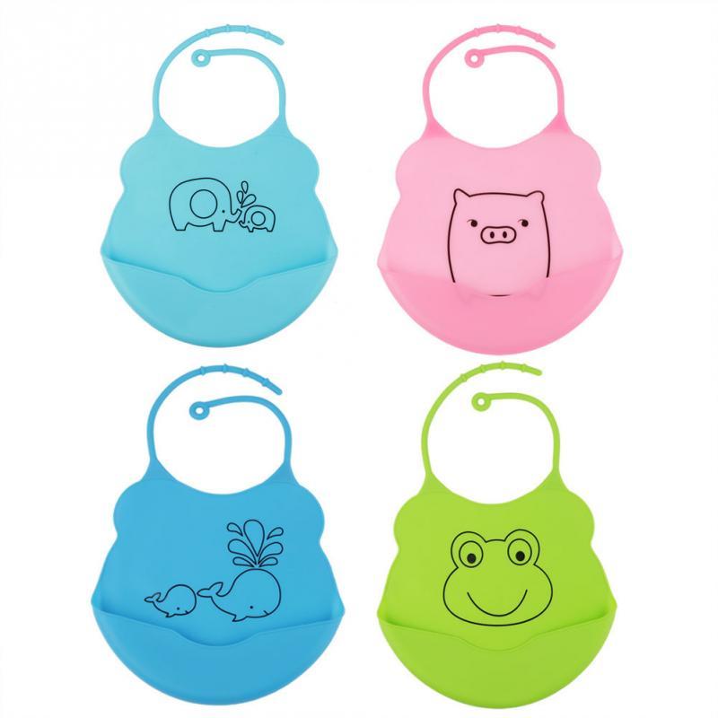 Green BABY Infant SOFT BIBS BIB Waterproof Cute Lovely Comfortable Fit Soft