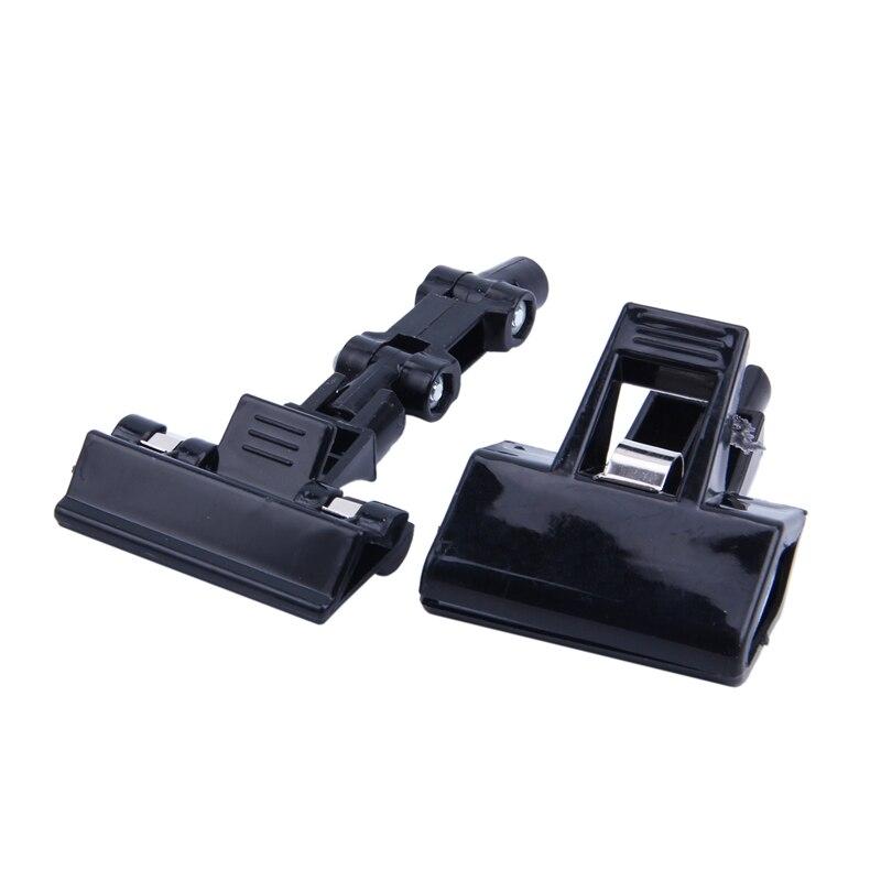 Screws Settled Plastic Pop Sign Card Display Clip Price Tags Holder Black