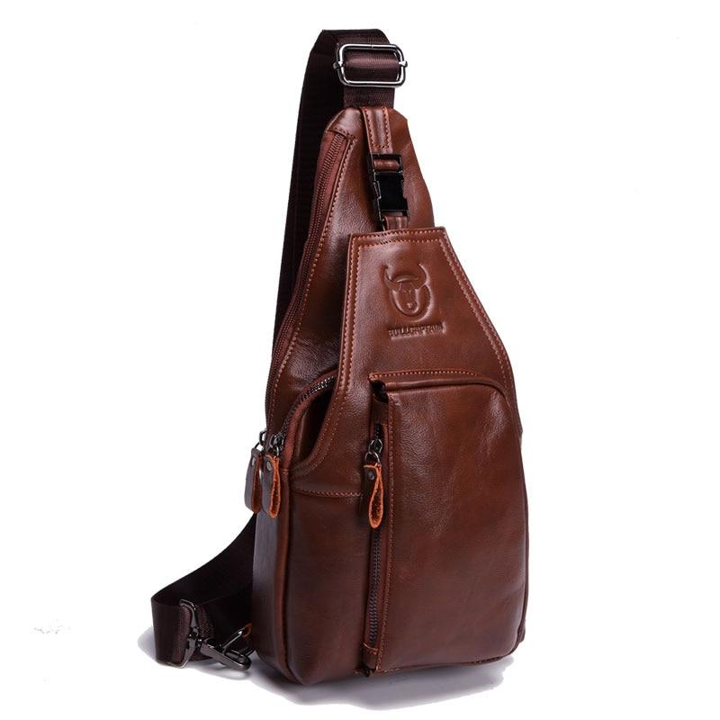 Высокое качество Пояса из натуральной кожи бренд Дизайн Мужская Сумка  дорожная плечо моды мужской Crossbody сумка на молнии пряжки груди мешок  купить на ... 52784d4458e