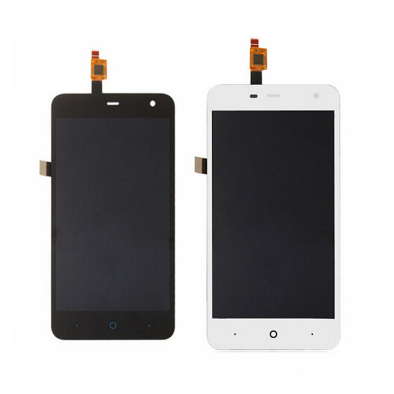 For ZTE Blade L4 Pro New Black White Touch Screen Digitizer Glass Sensor LCD Display Panel