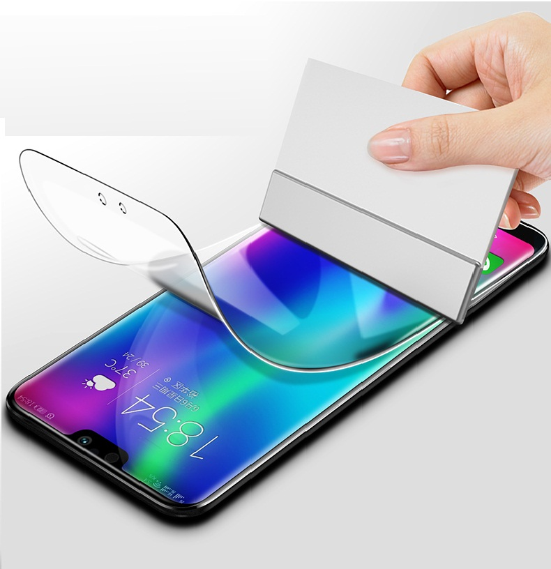 Soft Full Protective Hydrogel For oppo F11 pro FIND X full-screen cover water gel film for oppo R15x R17 pro A7x K1 F9 full film