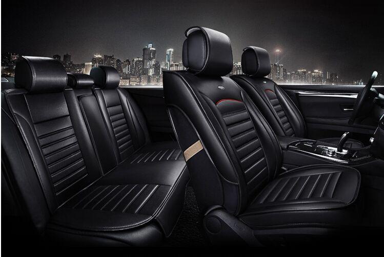 Quatre Saisons siège de voiture Générale housse de siège en cuir de voiture en cuir housse de siège coussin de siège de voiture
